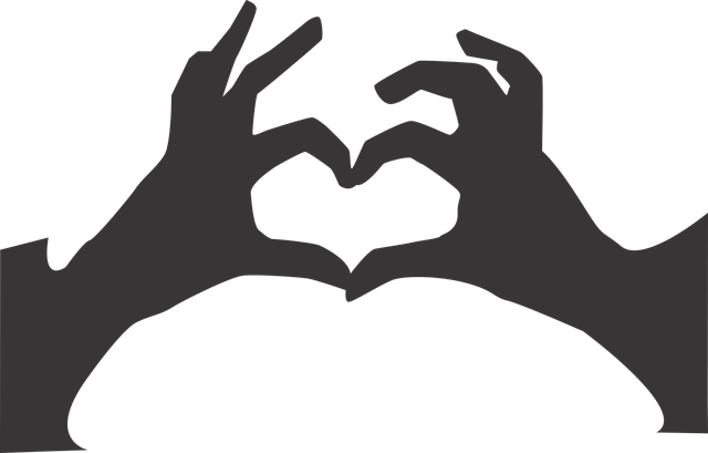 love you hand vector graphic pixabay #25743