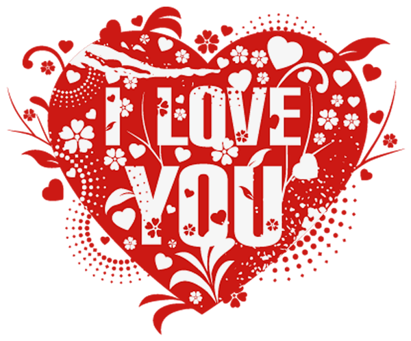 love you heart decor png picture gallery yopriceville #25763