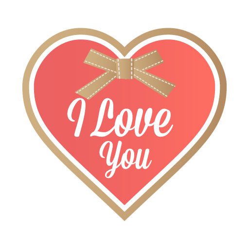 love you icon valentine iconset designbolts #25721