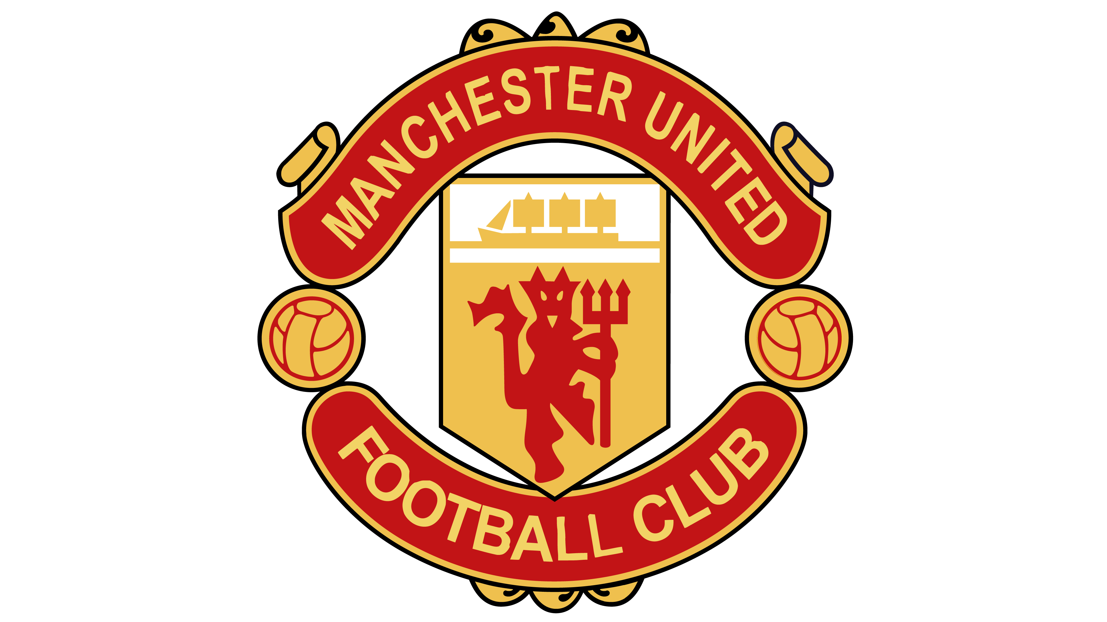 manchester united logo interesting history team name and #13498