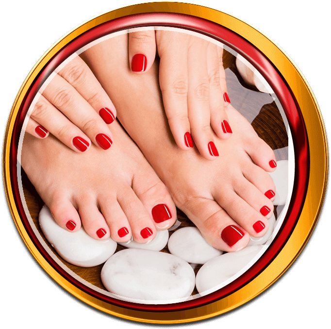 top nails spa manicure pedicure hair waxing burlington #29960