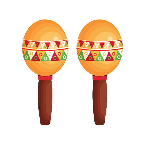 mexican maracas icon icons canva #34330