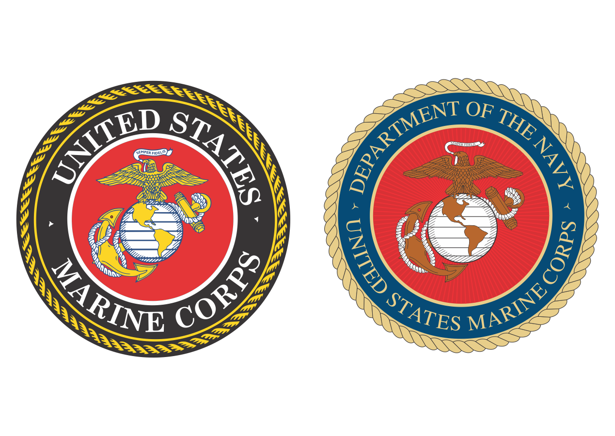 us marine corps logo vector png #5268