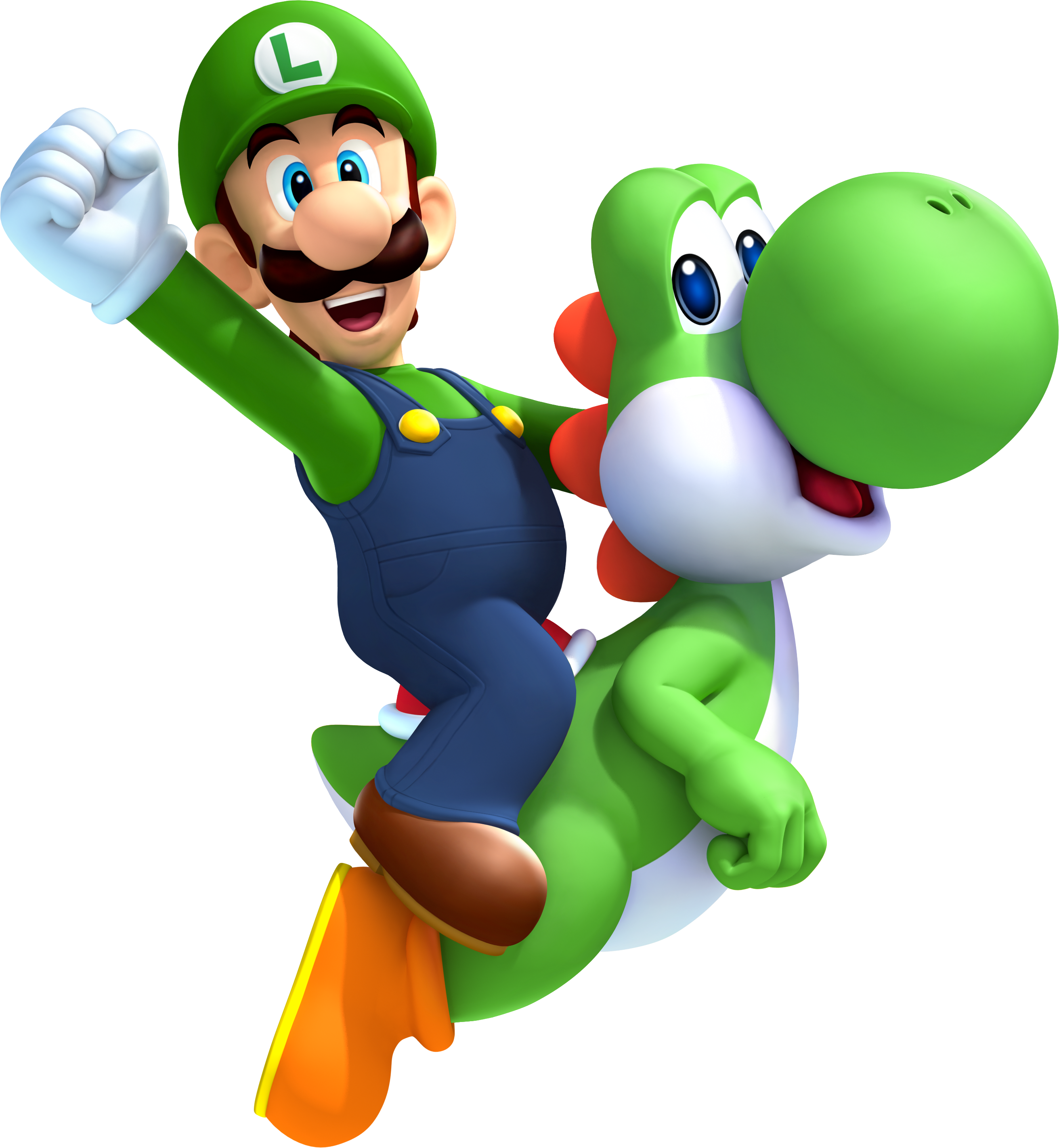 mario bros, enjoy some new super luigi official art and screens mario party legacy #28315