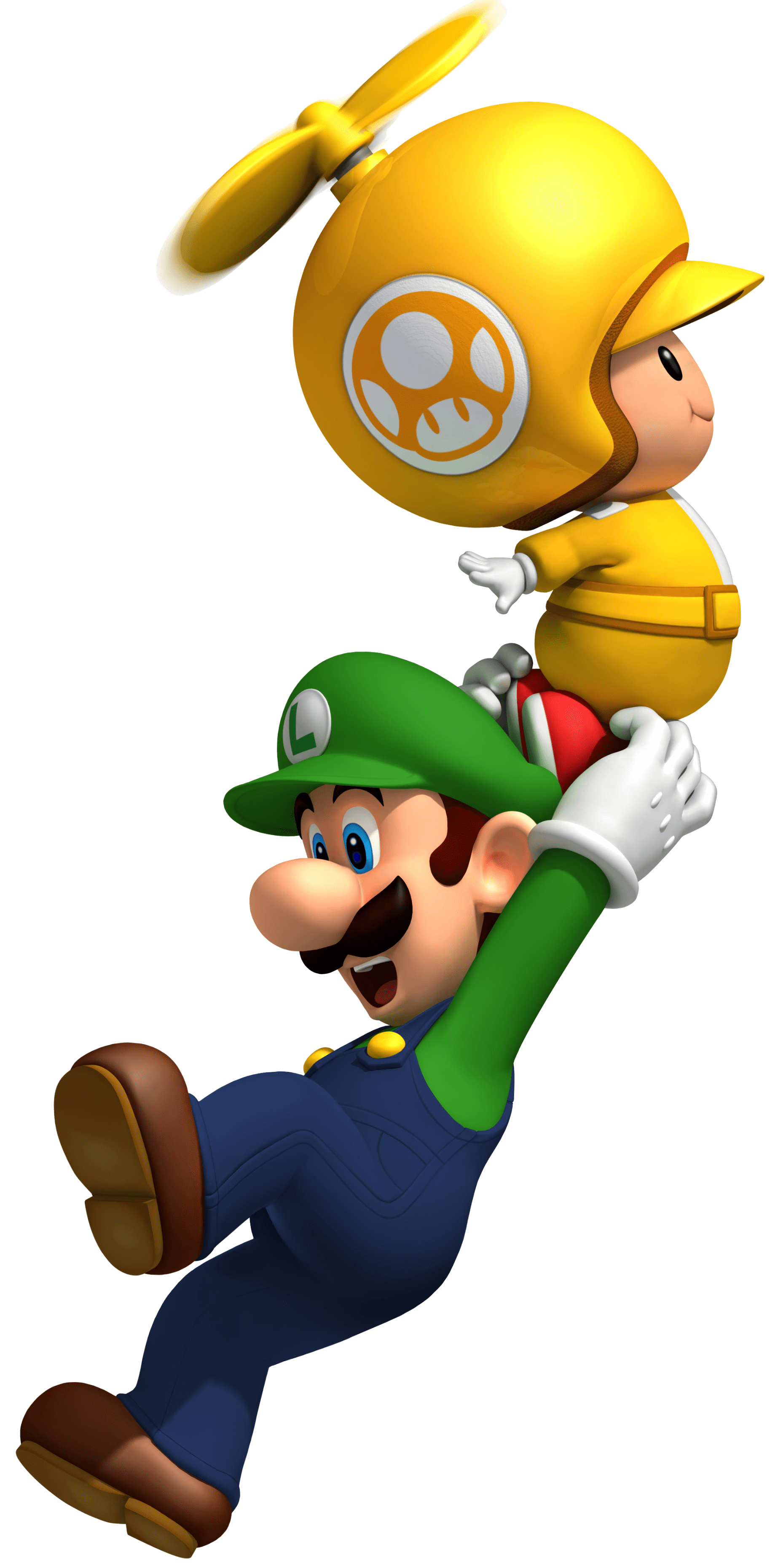 mario bros, propeller toad luigi transparent png stickpng #28344
