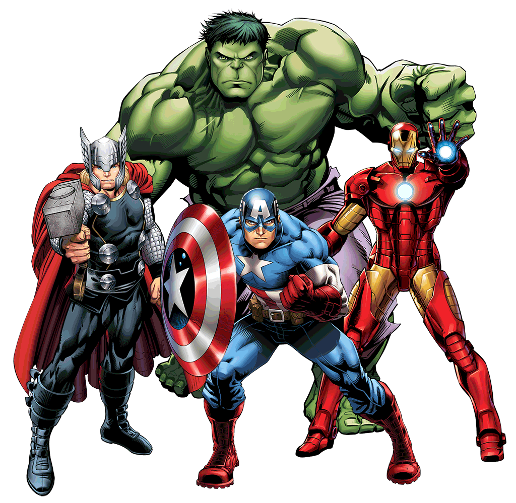 Marvel PNG - Marvel Heroes Transparent Clipart Images ...