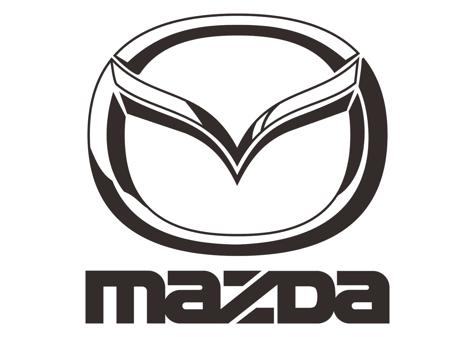 mazda logo #780
