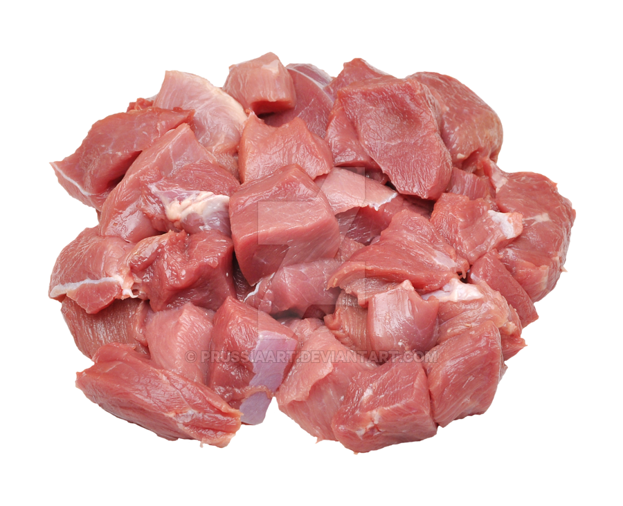 pieces raw meat for cooking prussiaart deviantart #23383