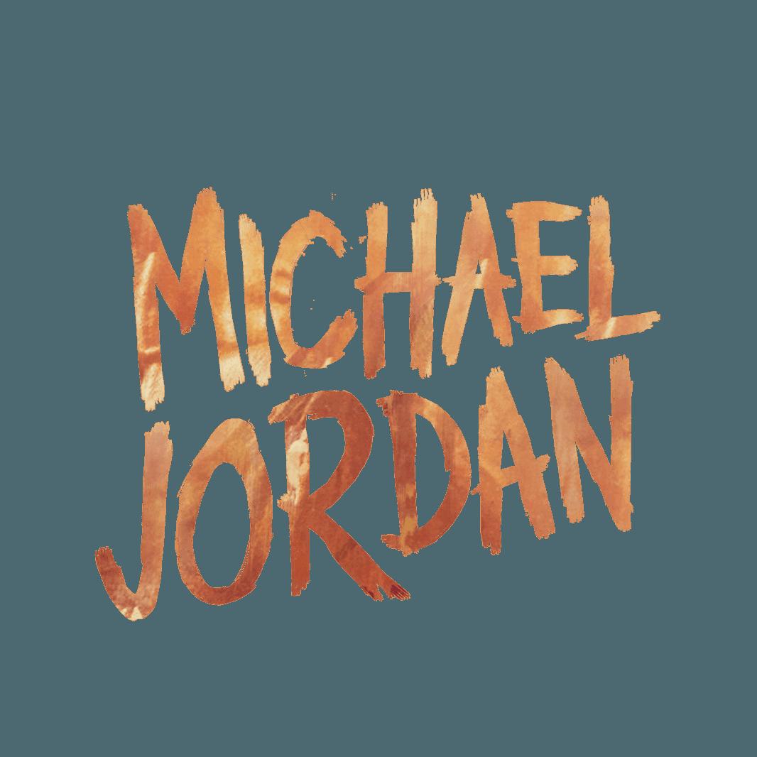 Attractive Michael Jordan Text Logo