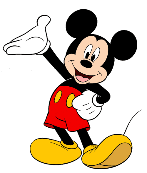 cartoon characters mickey mouse and friends #9425