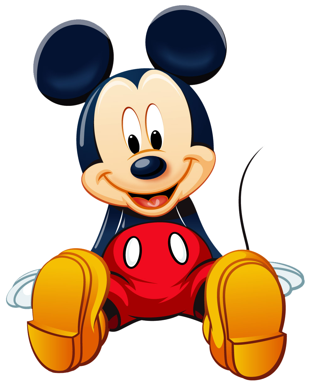 download mickey mouse png clipart transparent #9400