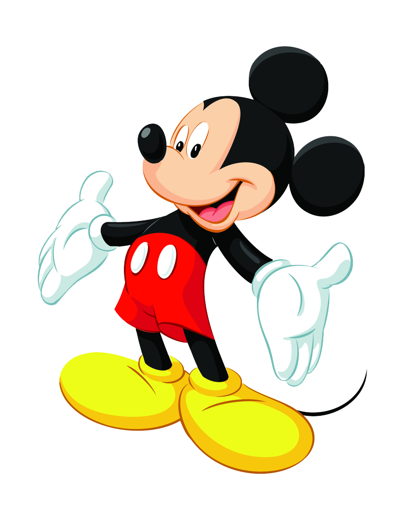 download mickey mouse transparent background png image #9404