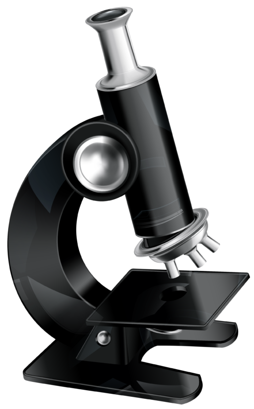 microscope clipart black and white images 23360