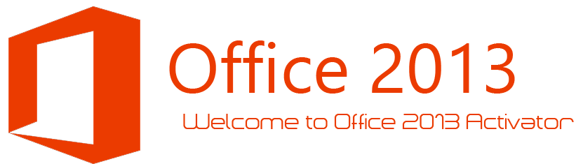 welcome microsoft office 2013 permanent activator png logo #4838