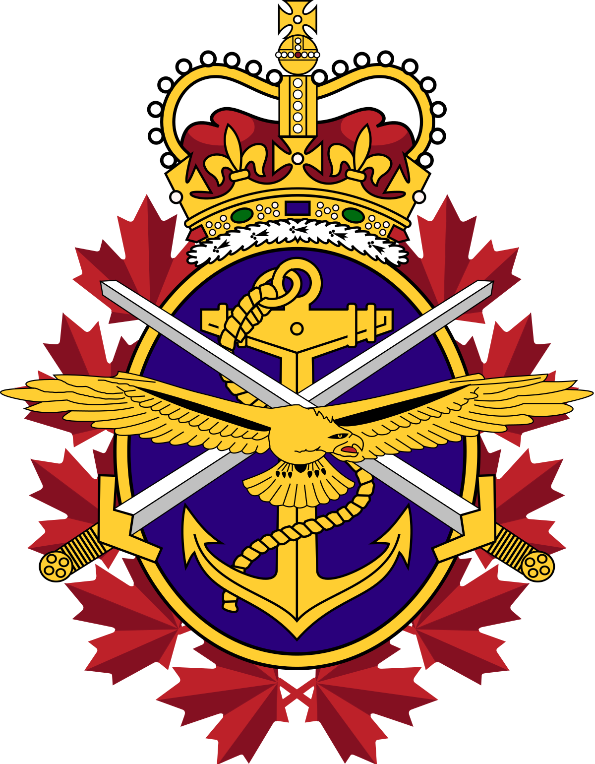 military logo, canadian armed forces wikipedia #25299