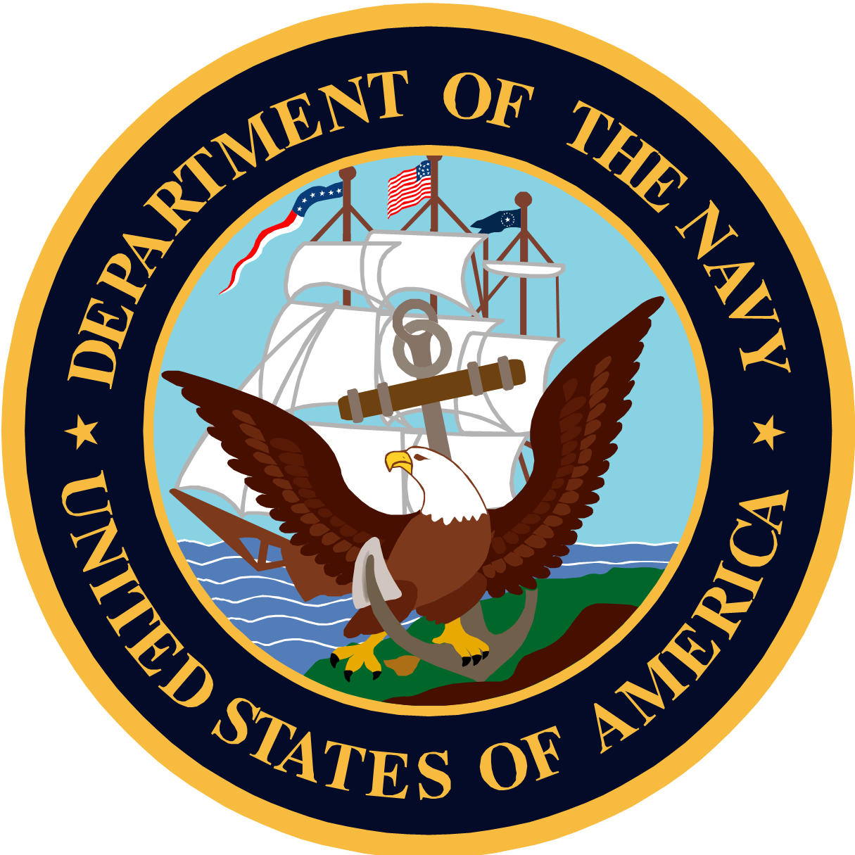 military logo, maritime maunder happy birthday navy #25277