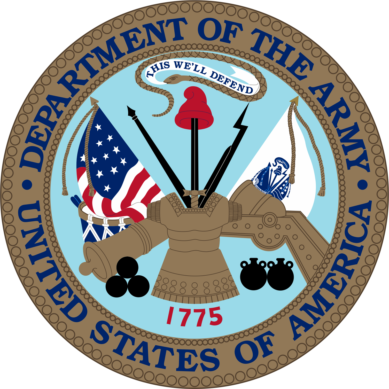 military logo, symbols insignias the united states army #25296