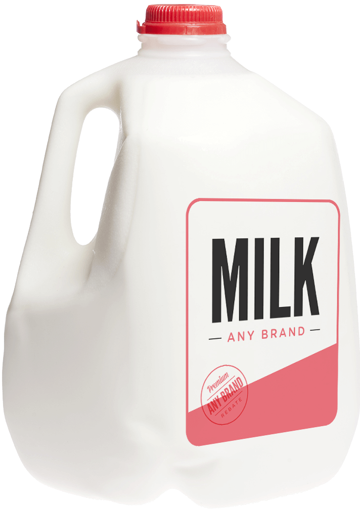 milk, stretching your dollar earn cash back groceries with #13892