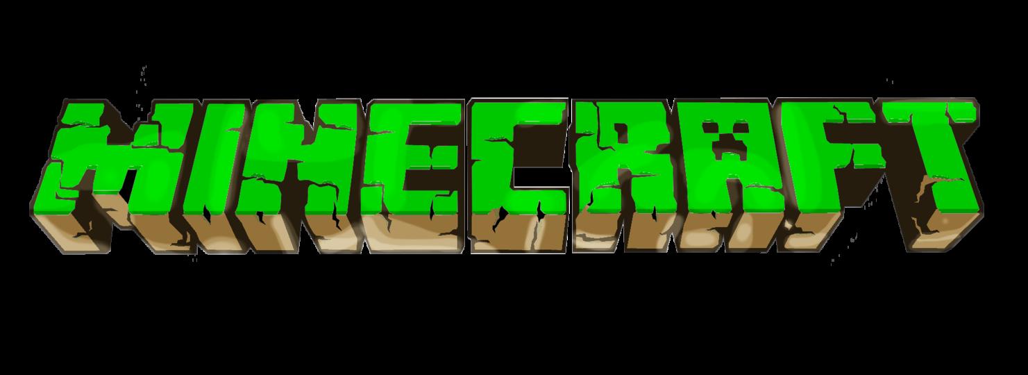 minecraft green logo #1015