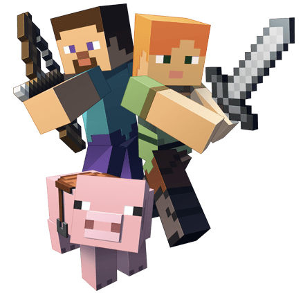 fighting minecraft transparent png stickpng #11457