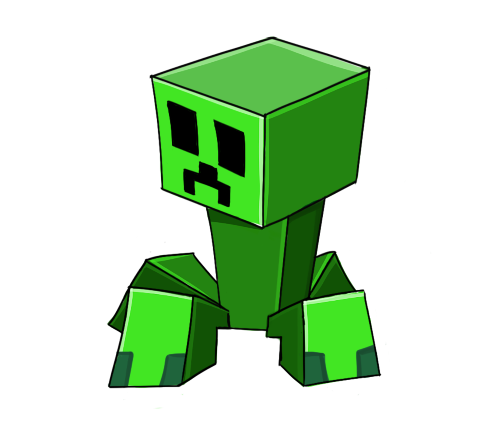 minecraft little png creeper redsheep collestion #11449