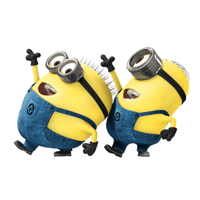 dancing minions transparent png stickpng #9685