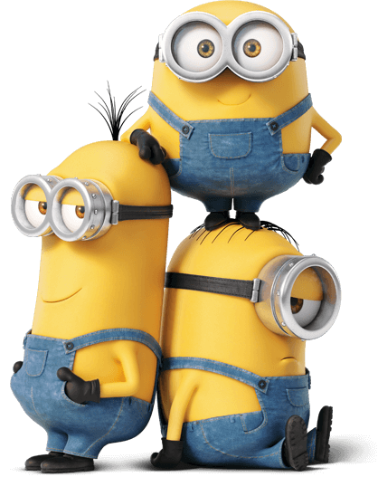 minions png minion tower transparent png stickpng 9703