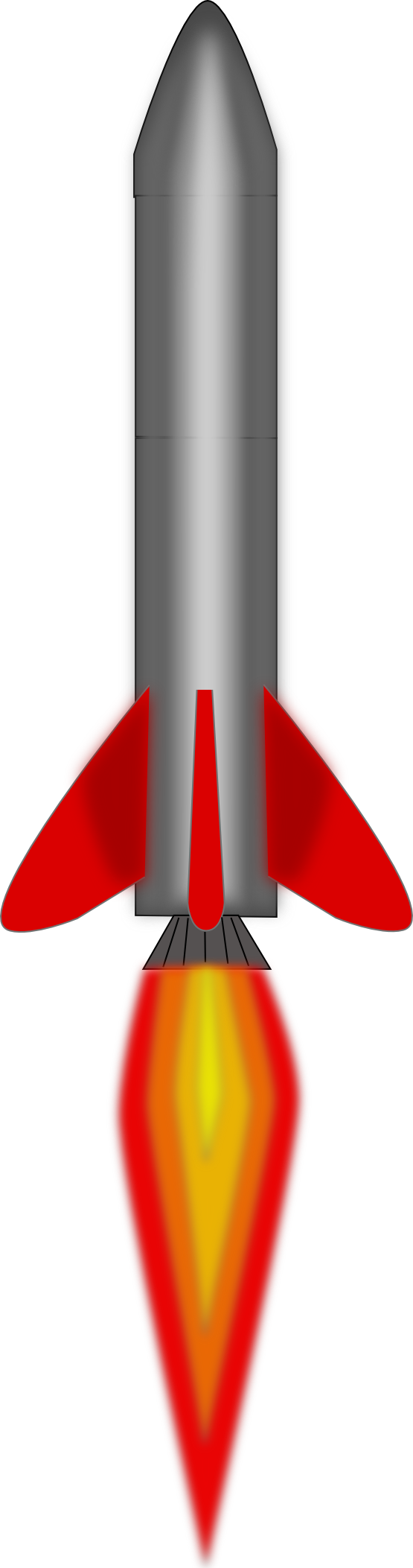 Download Nuclear Missile Clip Art #40368