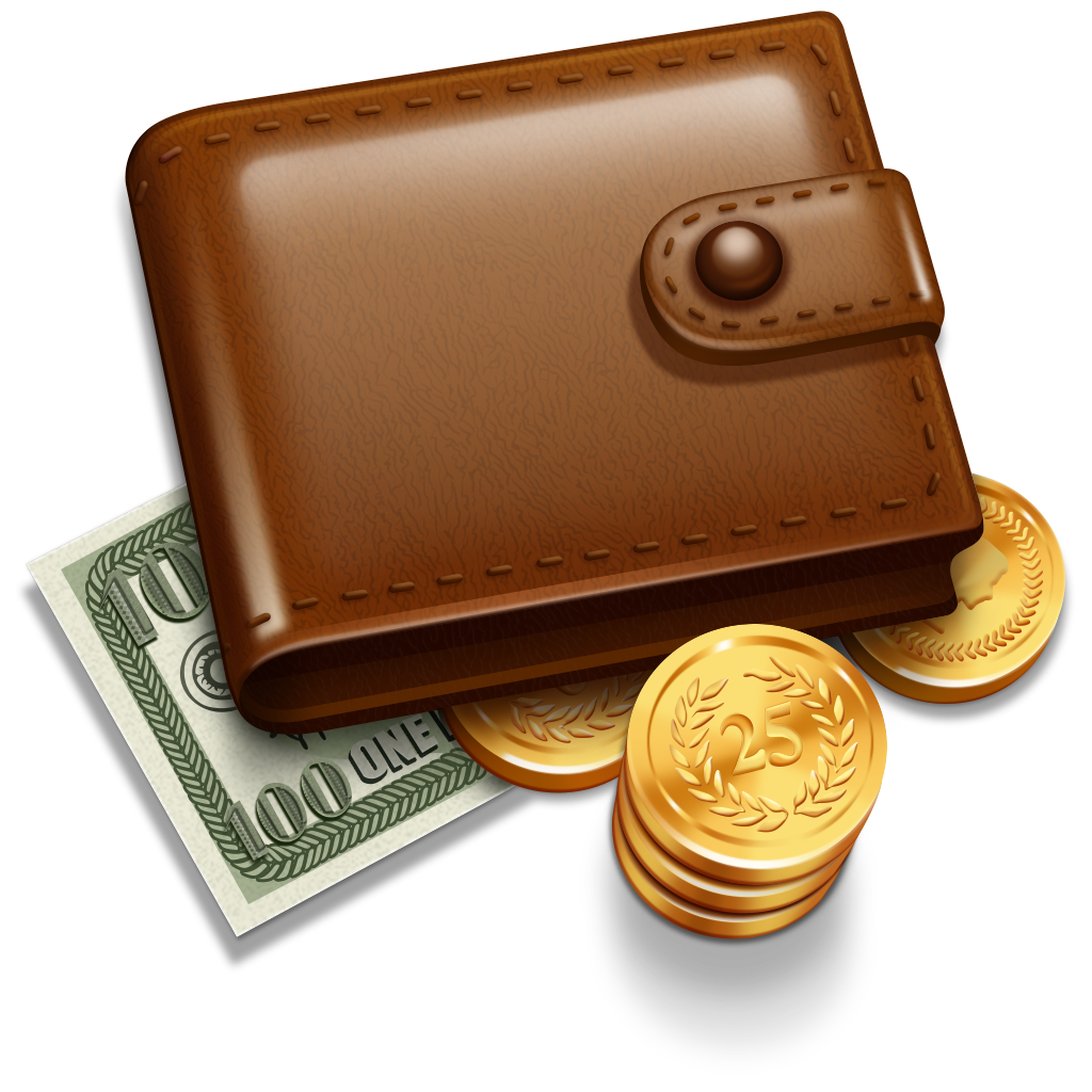 wallet money coins pictures png #8325