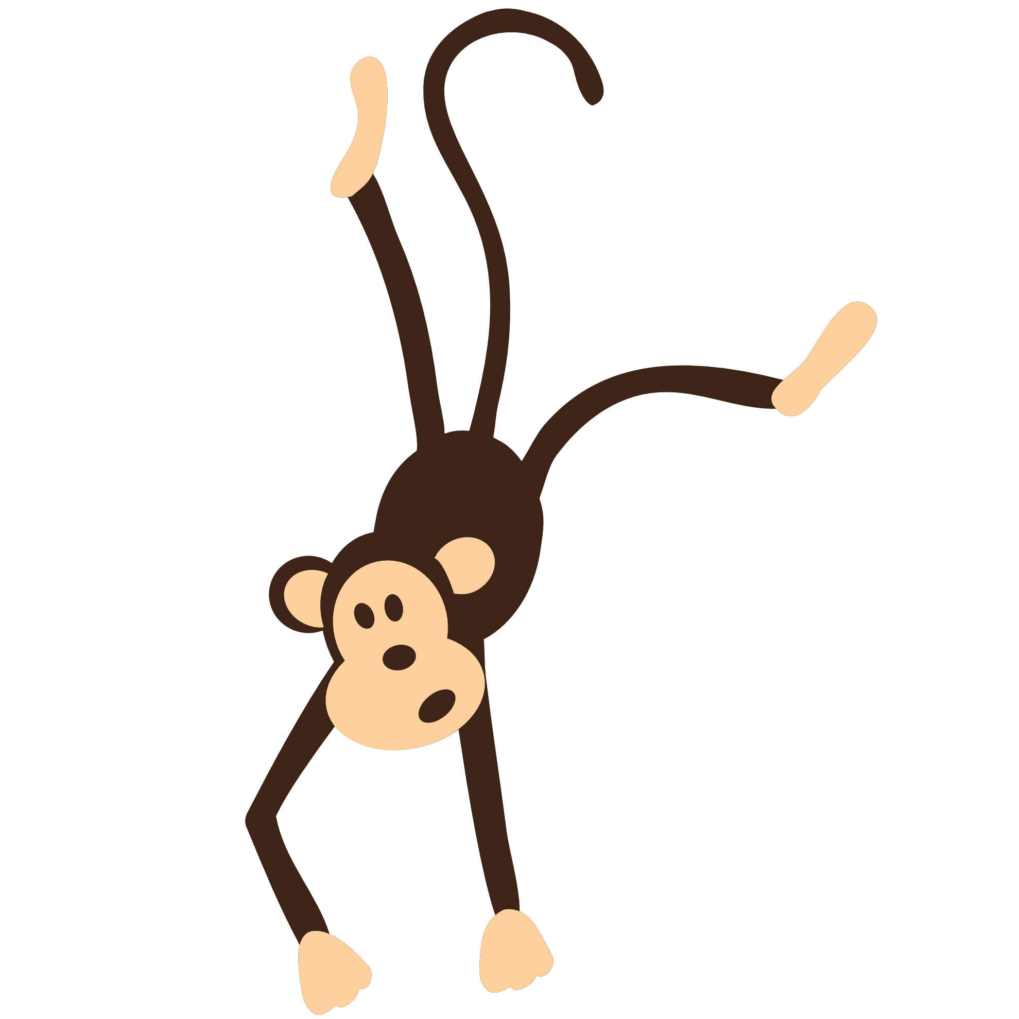 monkey png transparent images png only #19185