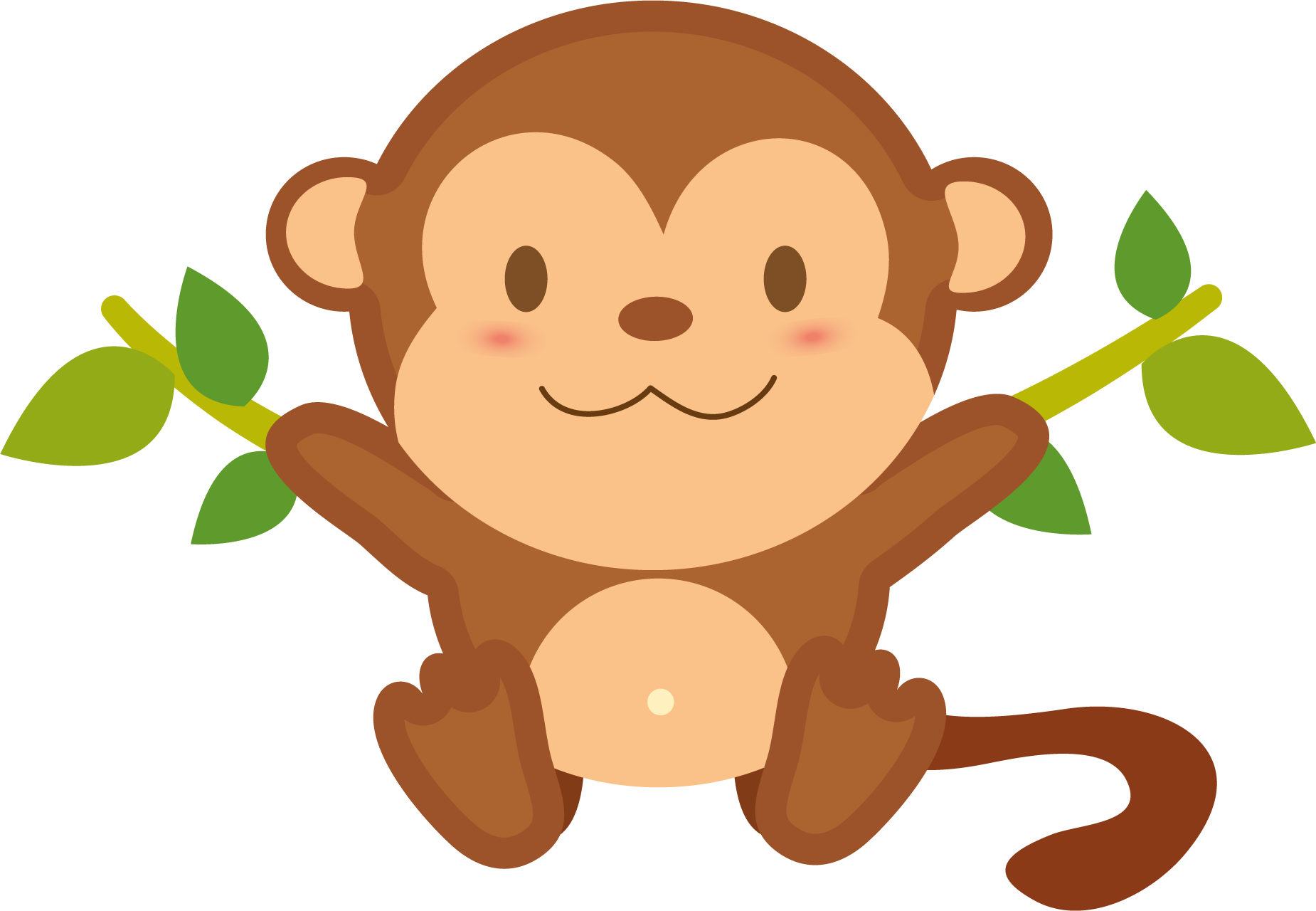 monkey png transparent images png only #19074
