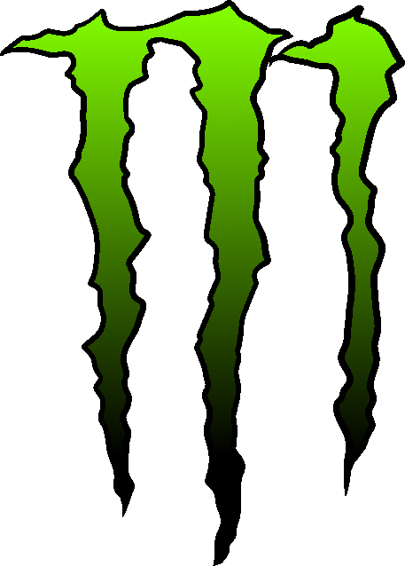 green black monster png logo #3141