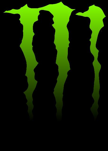 green black monster png logo #3141