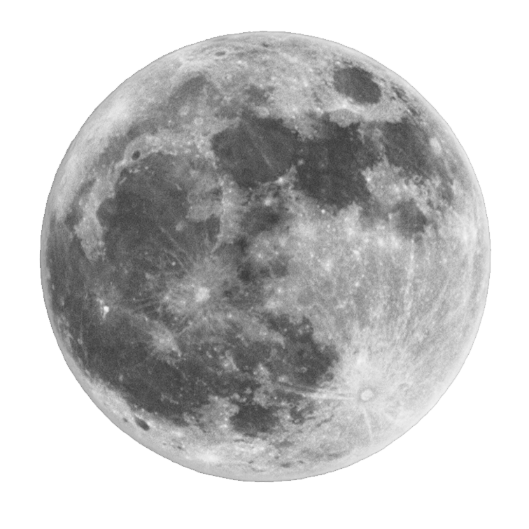 Moon Png Images Free Download, Half Moon, Crescent Moon