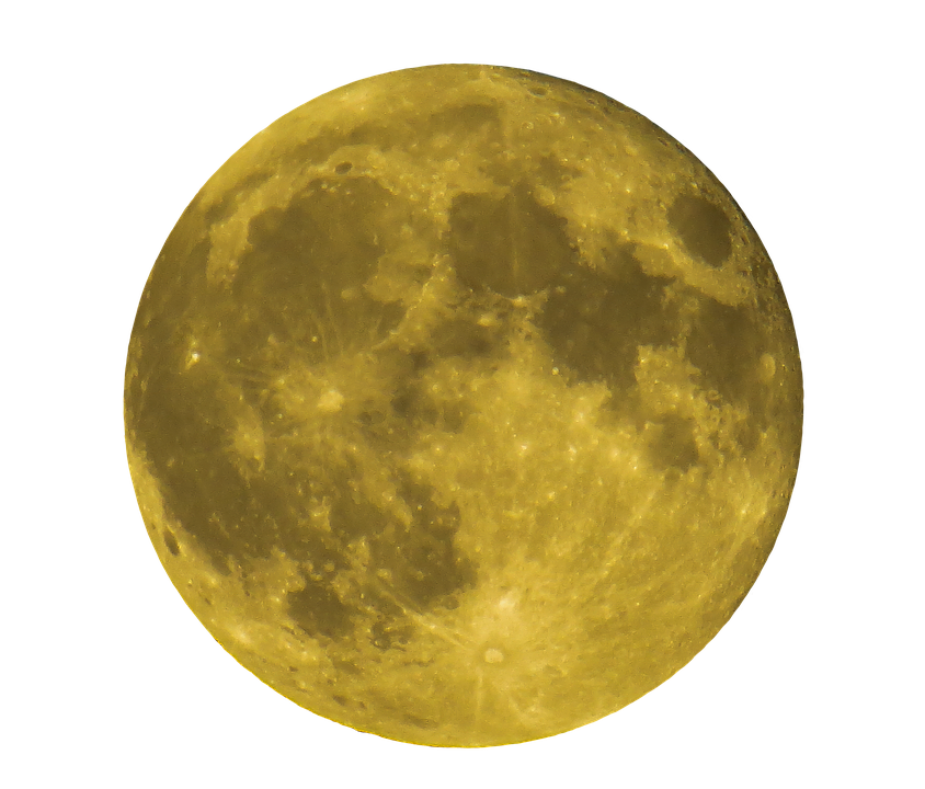 photo moon full moon png yellow night #10148