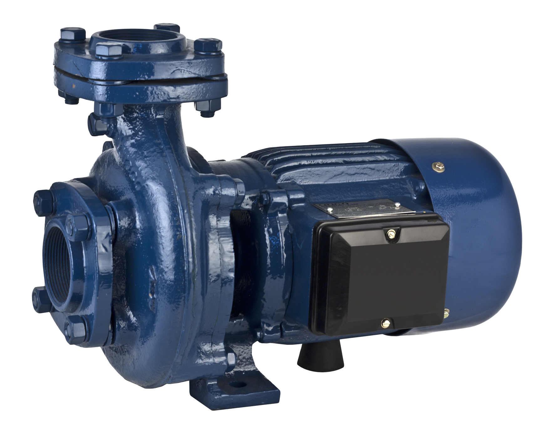 electric water pump blue motor png image purepng #20803