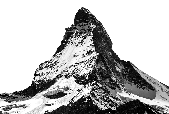 matterhorn snow mountain photo pixabay #11829