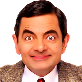 mr bean, harley quinn suicide squad png image purepng #23202