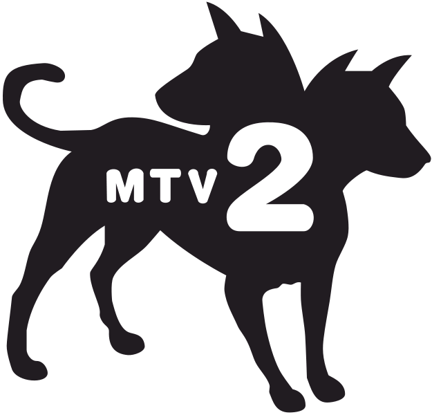 mtv 2 dogs png logo