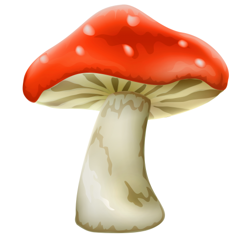 mushroom with white dots clipart best clipart #9082