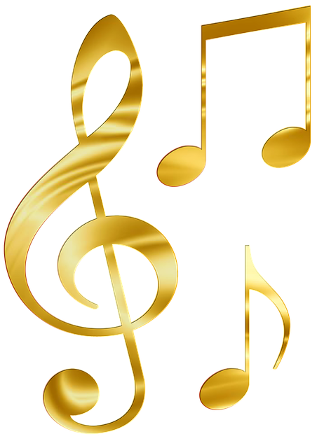 music notes png sheet music gold image pixabay #10051