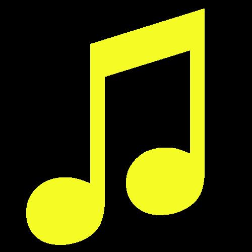 music rti yellow logo png #2353