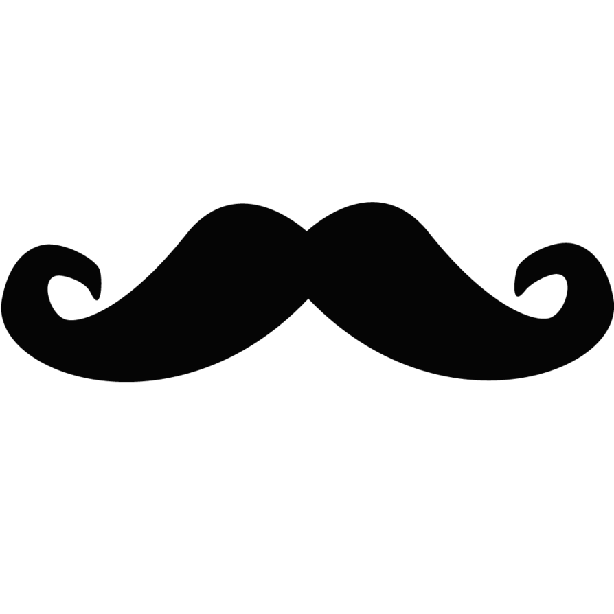 vector mustache clipart best #15044