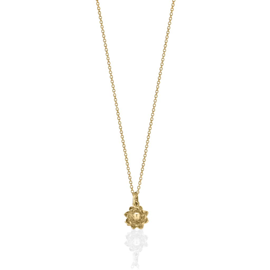 protea charm necklace meadowlark jewellery #29375