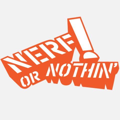 nerf or nothin logo #2197