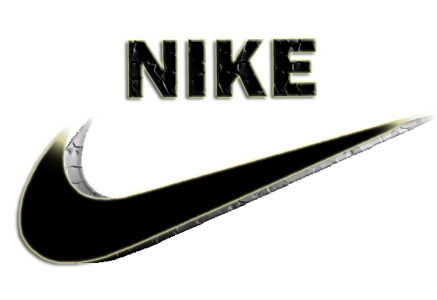 black and white nike logo transparent download #39980