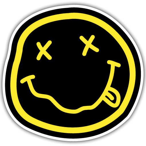 band sticker printing designs nirvana png logo 2901 free transparent png logos. Black Bedroom Furniture Sets. Home Design Ideas