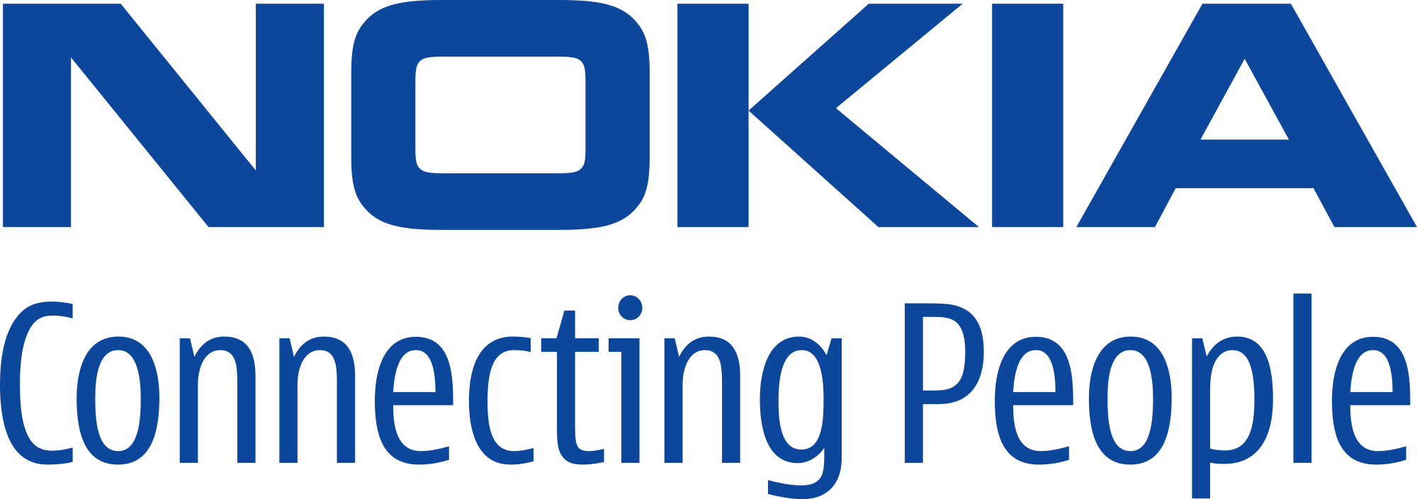 nokia connecting people slogan logo png #1482