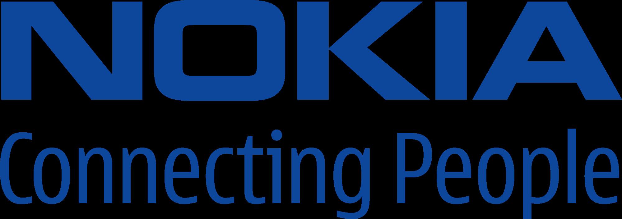 nokia connecting people slogan logo png #1482