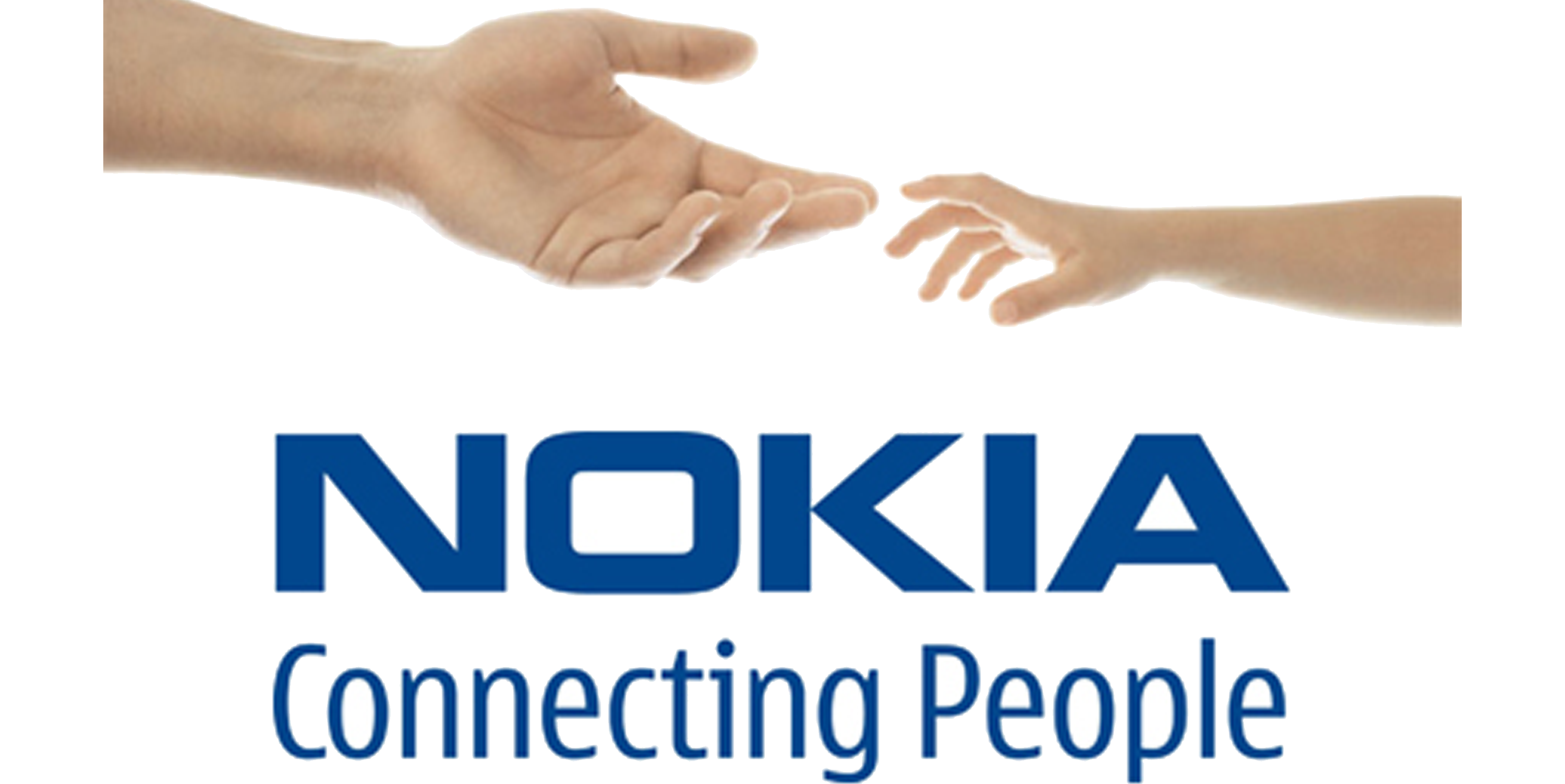 Nokia With Hands Connecting People Png 1490 Free